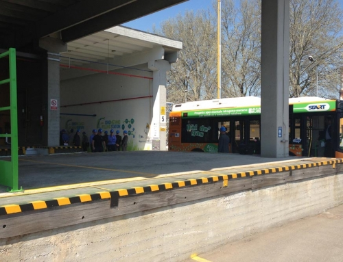 Bus hydrogen station in Northern part of Italy