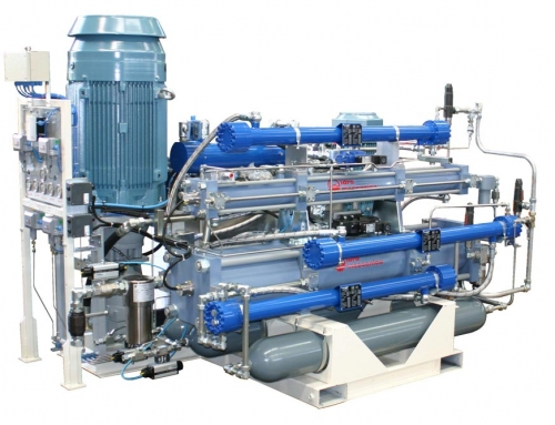 Tde13: Gas transportable compressor used in several areas where temporary gas supply is requested