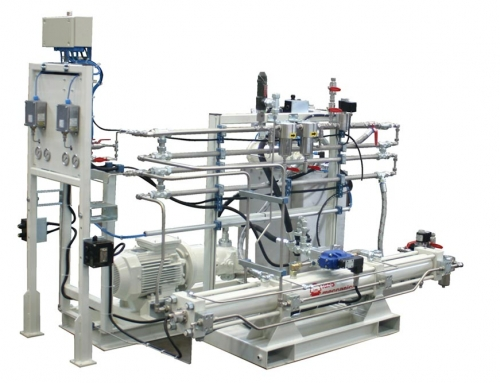 DDE85: Hydrogen compressor used in thermoelectric power plant