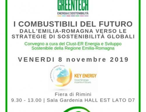 CONFERENCE: THE FUELS OF THE FUTURE -8 of November Rimini-